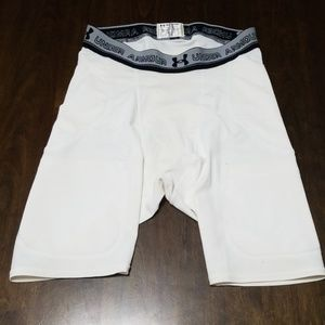 Under armour football compression shorts
